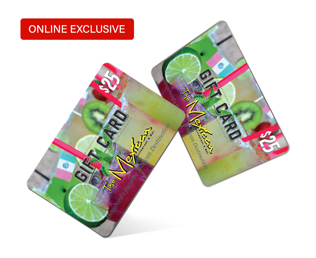 The Mexican Gift Card Online Exclusive